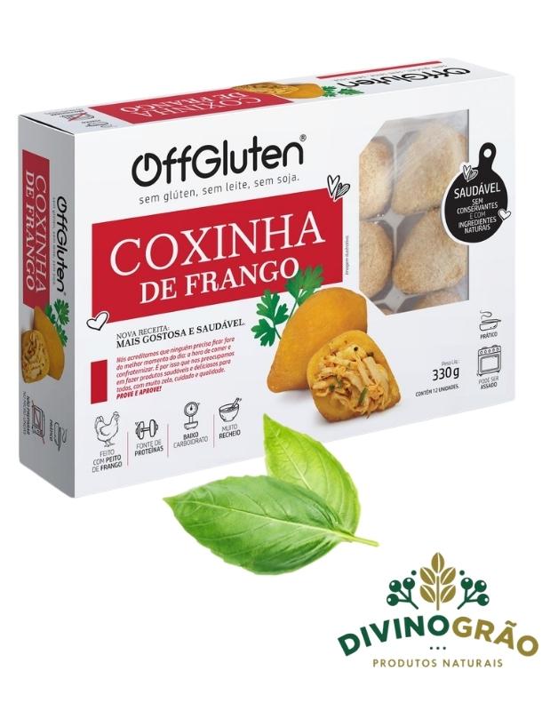 COXINHA DE FRANGO OFFGLUTEN 330G 👨🍳👨🍳