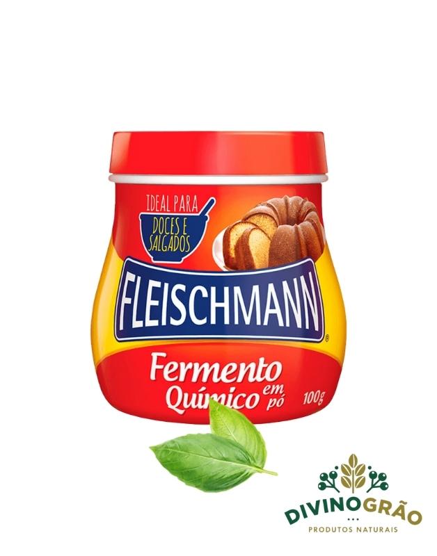 FERMENTO QUIMICO EM PÓ 100G FLEISCHMANN 🍞🍞