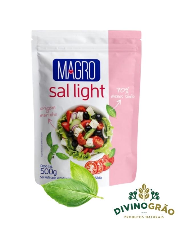 SAL LIGHT MAGRO 500G - 70% MENOS SODIO 🍴🍴