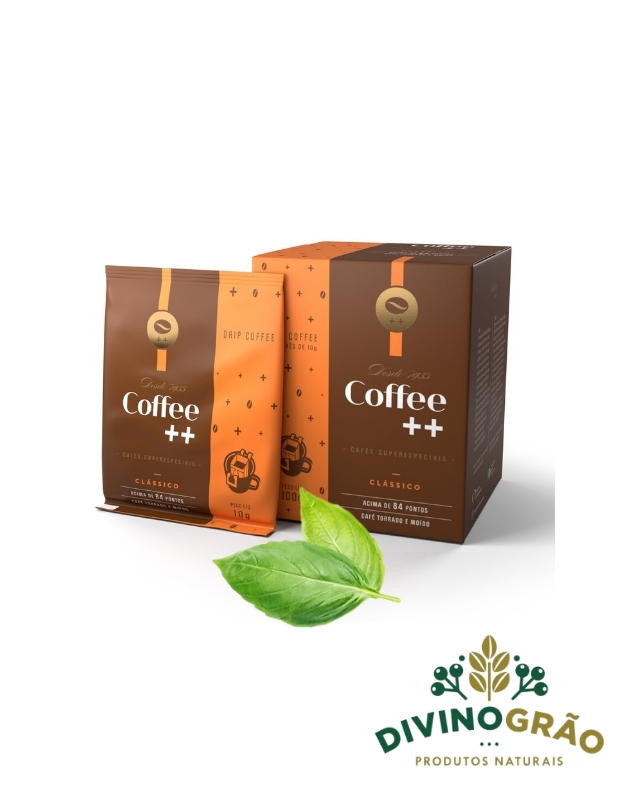 CAFÉ CLÁSSICO - DRIP COFFE 10 SACHÊS ☕☕