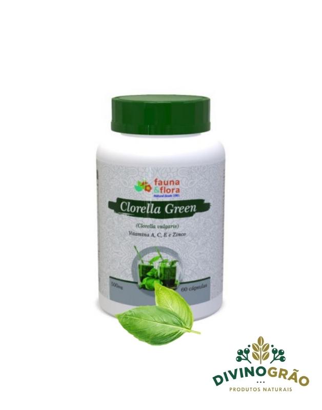 CLORELLA GREEN FAUNA&FLORA 60 CAPS 🏋😀