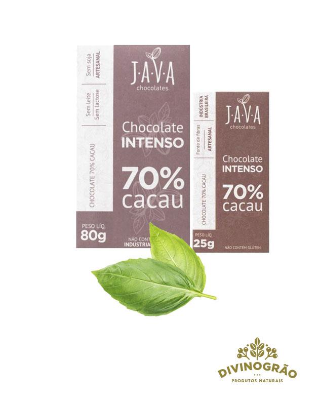 CHOCOLATE INTENSO 70% JAVA 🍫