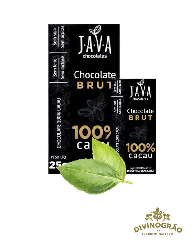 CHOCOLATE 100% CACAU JAVA 🍫