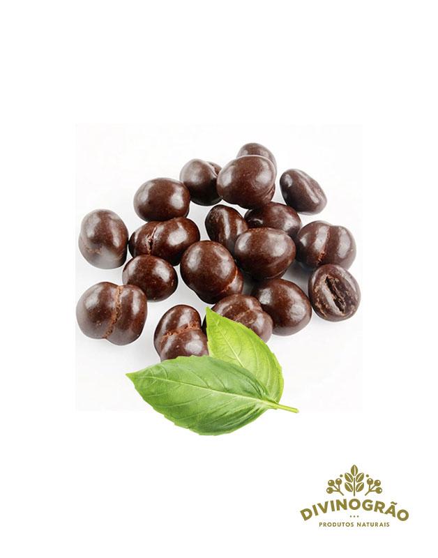 DRAGEE GRAO CAFE 70% CACAU ☕