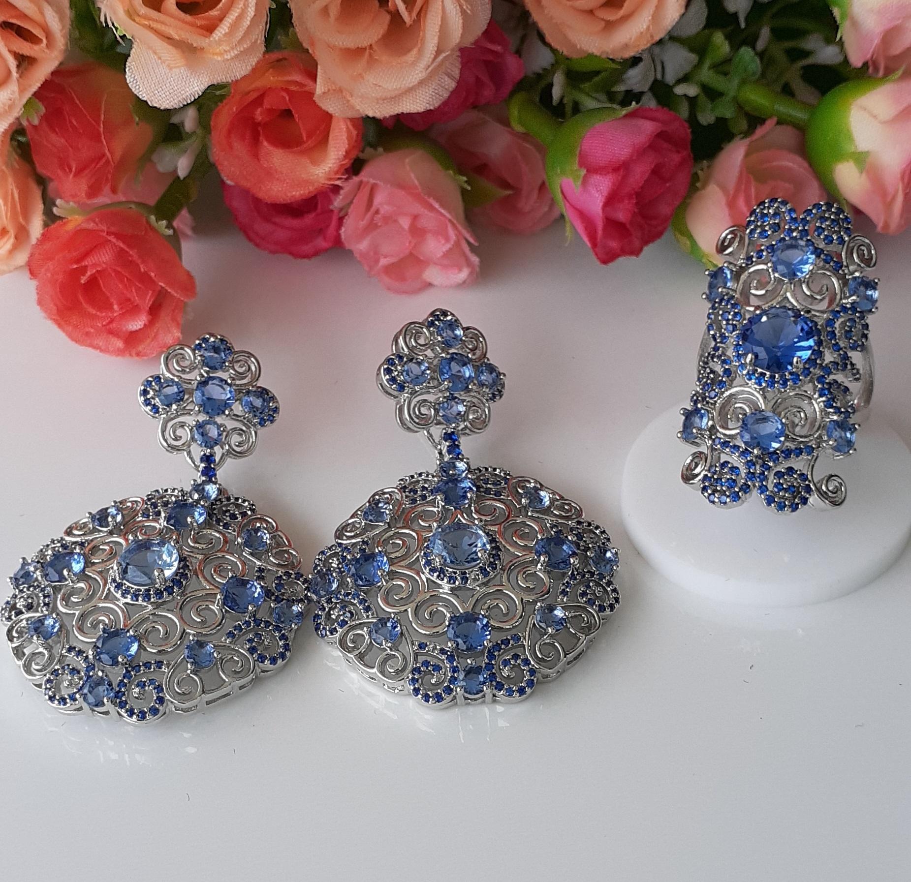 Conjunto Cristal com Zirconias