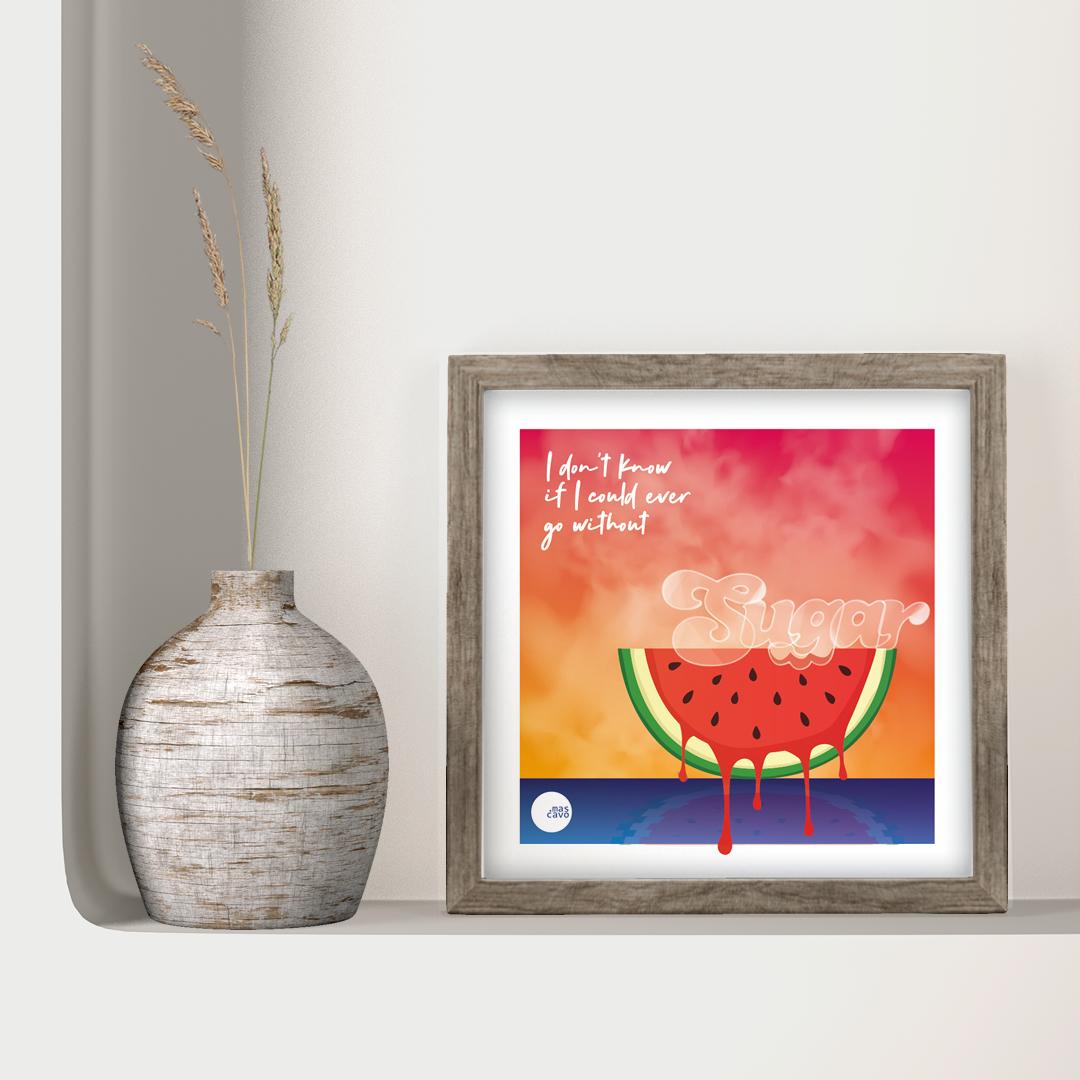 Watermelon on a summer evenin'